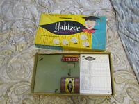 Vintage 1956 ORIGINAL YAHTZEE Dice Family Board Game E.S. Lowe Co #950