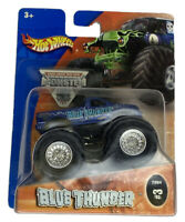 NIP Blue Thunder Hot Wheels Monster Jam Diecast Truck 1/64 2004 #3 VHTF