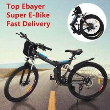 "26"" Electric Bike Folding E-Bike 250W 36V 8Ah Power Assist Mountain City Bicycle"