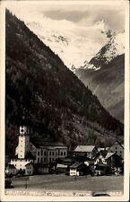 Neustift Österreich Tirol AK ~1940 Zuckerhütl Dorfansicht mit Kirche ungelaufen