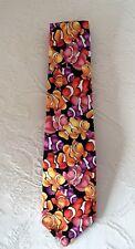 Clownfish design handmade tie great scuba, ocean, diving gift