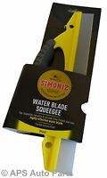Simoniz Water Flexible Silicone Blade Squeegee Removes Water Auto Care Cleaning