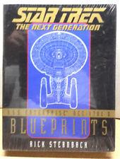 Star Trek Next Generation Blueprint Boxed Set- 13 Sheets 22x34- Sealed (C5901)