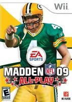 Madden NFL 09: All-Play - Nintendo Wii