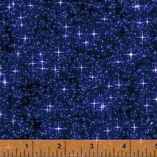 INTERSTELLAR SPACE NIGHT SKY STARS QUILTING FABRIC NO. 29