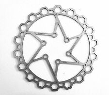 Alligator STEALTH Silver Disc Brake Rotor 160mm ULTRALIGHT 70g! + bolts