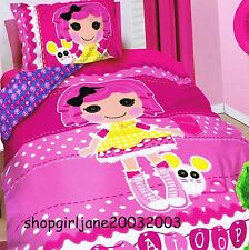 Lalaloopsy - Mouse - Single/US Twin Bed Quilt Doona Duvet Cover Set