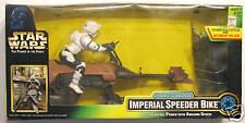 Star Wars POTF RADIO CONTROL IMPERIAL SPEEDER BIKE MIB