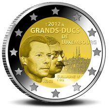 2 EURO COMMEMORATIVO LUSSEMBURGO 2012 Granduca