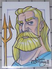 Chrissie Zullo - Perna Studios Classic Mythology Ii Sketch - Poseidon