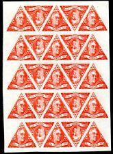 MONACO 1946 328-330U ** POSTFRISCH BOGEN ROOSEVELT(E8041