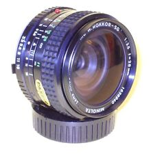 Minolta MC W.ROKKOR-SG 28mm 1:3,5 in MINT condition!