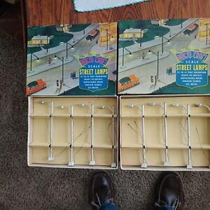 Vintage Aristo-Craft O-S Gauge Highway Lights LIONEL & American Flyer Compatible
