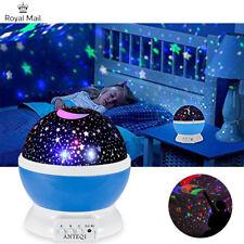 Cosmo Star Projector Rotating Night Lamp Sky Scene Calming Autism Sensory Lights