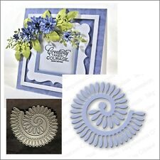 Spiral Daisy metal die Impression Obsession cutting dies DIE071-I rolled flowers