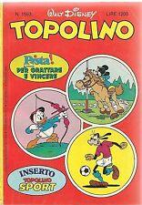 TOPOLINO N° 1593 - 8 GIUGNO 1986