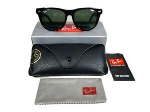 Ray-Ban Wayfarer Sunglasses RB2140 901 Black 54mm/g-15 Green Lens