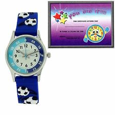 Reflex Time Teacher Watch Children Kids Girls Boy Xmas Gift + Telling Time Award