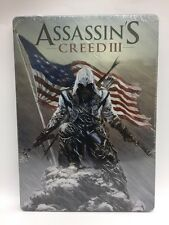 Assassin's Creed 3 III Collector's Steelbook Case (No Game DVD) NEW!! SEALED