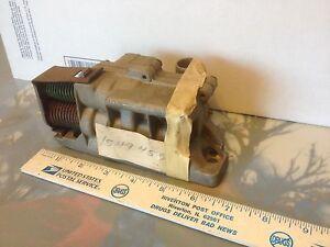 Studebaker transmission valve body, 1549455, NOS.  Item:  9185