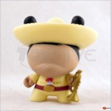 Kidrobot Dunny 2011 Azteca series Jose M Torre -  Yellow Mariachi vinyl figure