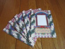 Christmas Card Family Photo Holder Lot of 5 Current Co. Unused Cherie Rayburn