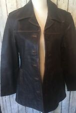 Womens Limited Leather Brown 100% Leather Jacket