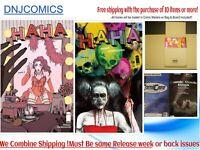 HAHA #2 COVER  A & B  DEL REY (MR) (IMAGE COMICS) 2/17/ 2021 presale 2020 NM