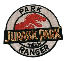 "3.25"" Jurassic Park Ranger Movie Cosplay Tactical Embroidered Iron-On Patch"