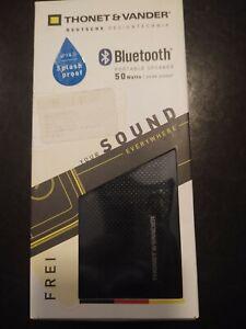 Thonet and Vander Frei Portable Bluetooth Speaker (Black/Yellow)