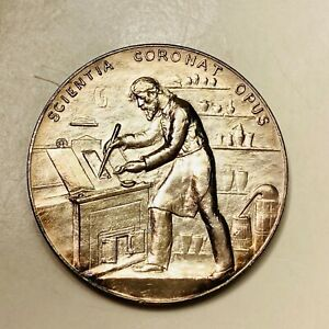 1891 Annual Assay Commission US Mint Medal Silver Charles Barber Julian AC-34