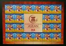 Malaysia Joint Issue Of ASEAN Community 2015 Flag (sheetlet) MNH