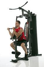 Sportgerät Kraftstation Hammer Ferrum TX1 bis 120kg Benutzergewicht Schwarz