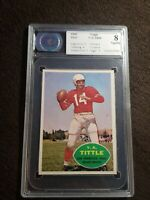 1960 Topps Football #113 Y.A. Tittle San Francisco 49ers HOF CSA 8 NM-MT