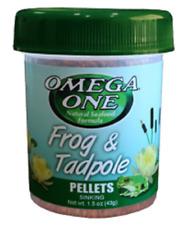 Omega One Frog & Tadpole Pellets 1.5 oz