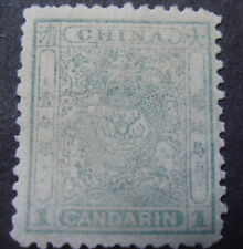 China 1c Green Mint Small Dragon(appears to be Mnh)