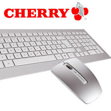 Cherry DW 8000 Tastatur und Maus Set Wireless MultiMedia 2,4 GHz USB - DE