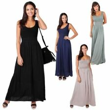 Boho Long Dresses for Women with Pleated
