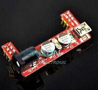 5PCS Arduino mini usb 3.3V 5V MB102 Breadboard Power Supply Module