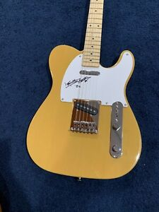 Rare Keith Richards Rolling Stones Signed Fender Tele Guitar JSA + Beckett