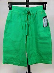 Polo Ralph Lauren Small Mens/Ladies Sleep Shorts/Green/Thermal Waffle/Tie/NWT