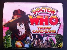 DR WHO TRUMP CARD GAME Oringinal  empty DISPLAY box ,case 1970s TOM BAKER,Xrare