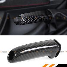 FOR BMW E36 E46 E90 E92 F30 F32 F80 F82 CARBON FIBER BRAKE HANDLE HANDBRAKE GRIP