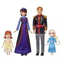 Disney Frozen 2 Arendelle ROYAL FAMILY 4-Doll Exclusive Set NIB/Sealed