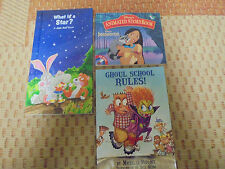 (3) Assorted Childrens (Pocahontas is a CD Rom Animated Story Books
