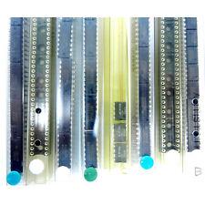 91 Pcs Lot - Electronic Parts (Texas Instruments) - Logic Ic Chips, Sockets, 555