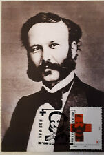Republic of North Macedonia/2010/Maximum Cards/Red Cross founder Henry Dunant