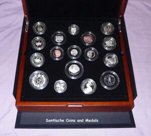 2016 ROYAL MINT UK PREMIUM PROOF SET COINS - 16 Coins & Medal - FULL PACKAGING