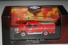 Atlas Faszination Feuerwehr: Dodge D-500, OVP mit Sprung im Deckel