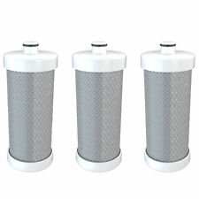 Refresh Water Filter - Fits Frigidaire 240394501 Refrigerators (3 Pack)